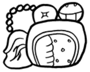 Piedras Negras (Maya site) - The Emblem Glyph of Piedras Negras