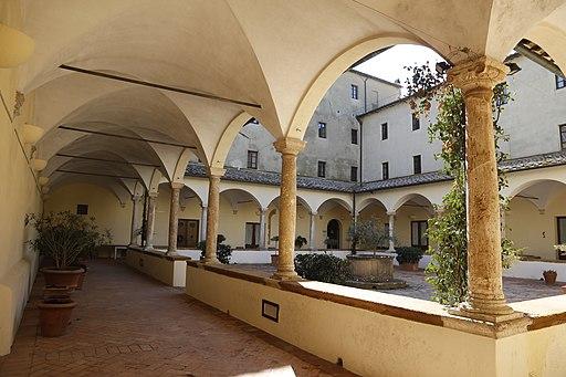 Chiostro del Convento di San Francesco, Pienza