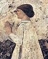 Piero della francesca, Sigismondo Pandolfo Malatesta in preghiera davanti a san Sigismondo, 1451, 03.JPG