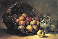 Piet Mondriaan - Mand met appels (authentiek) - A8 - Piet Mondrian, catalogue raisonné.jpg