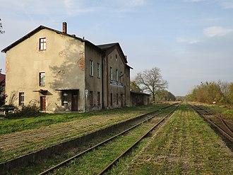 Pietrowice Wielkie - Image: Pietrowice Wielkie, dworzec kolejowy (6)
