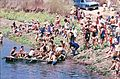 PikiWiki Israel 11252 Gan-Shmuel - rafts in the fish ponds 1981.jpg