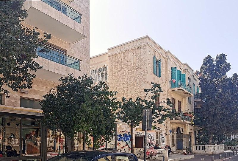 הבית ברחוב לילינבלום 16 בתל אביב