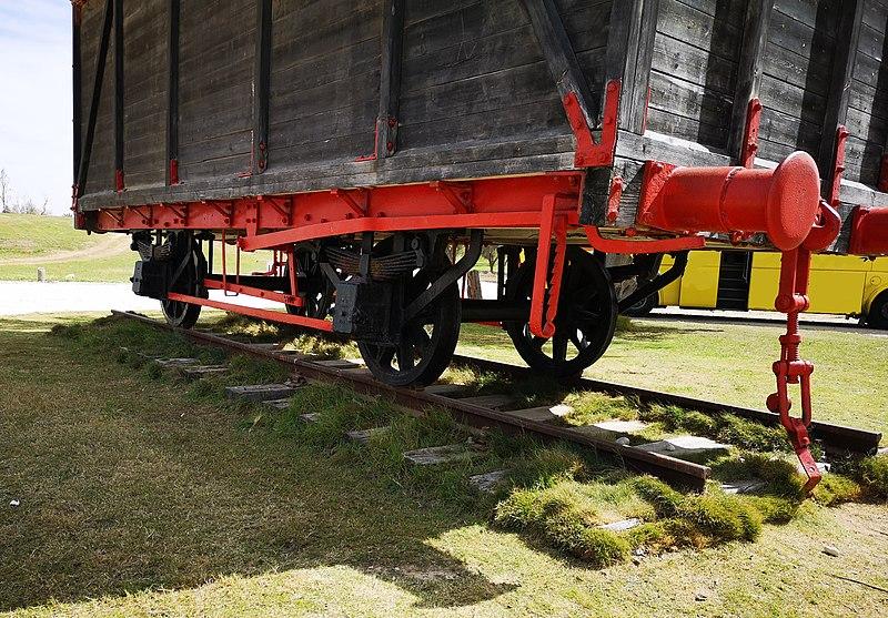 גשר הרכבת בפארק הבשור