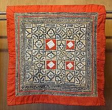 7016 Ethnic  tribe  Hmong  Miao fabric Textiles