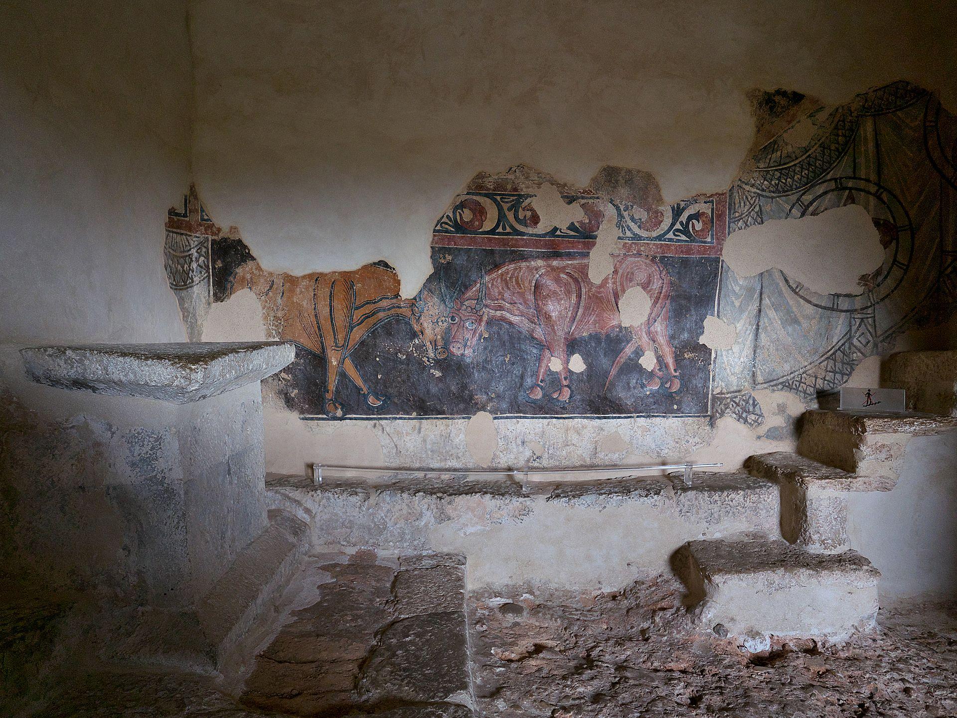 ARTE] Así están repartidos los frescos mozárabes de San Baudelio ...