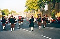 Pipe Band Dornoch - geograph.org.uk - 319748.jpg