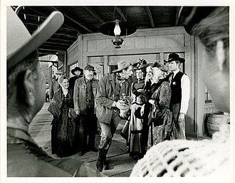 Gary Vinson - Vinson (right) as Sheriff Harold Sikes in the 1966–67 CBS western sitcom Pistols 'n' Petticoats.