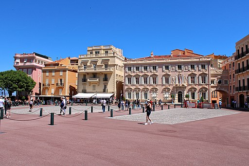 Place du Palais Monaco IMG 1191