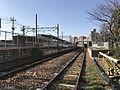 Platform of Wajiro Station from south side.jpg