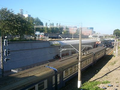 Platforms of Northern Railwaystation in Kaliningrad.jpg