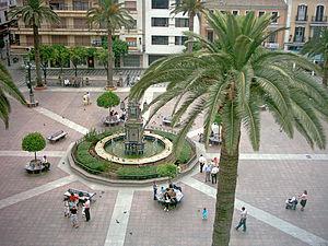 Plaza Alta (Algeciras) - Aerial view