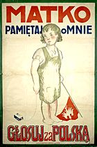Polish poster from the plebiscite in Upper Silesia in 1921
