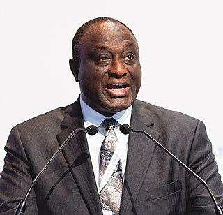 Alan John Kyerematen Ghanaian politician, corporate executive, diplomat and an international public servant