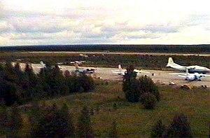 Plestsy Airport - Plestsy Airport in 1998
