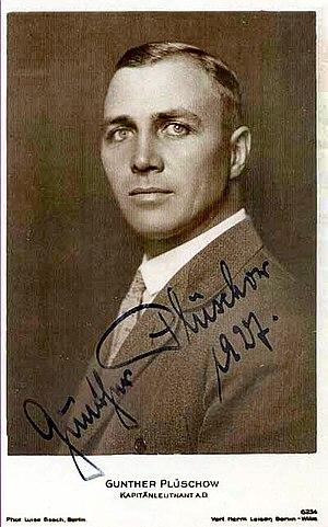 Gunther Plüschow - Gunther Plüschow in 1927