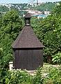 Podolí, zvonice u svatého Michala, z ulice Ve svahu.jpg