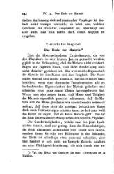 Henri Poincaré: Das Ende der Materie