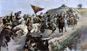 Polish-Russian skirmish during Bar Confederation.PNG
