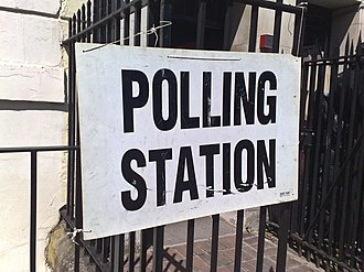 2010 United Kingdom government formation - Image: Polling station 6 may 2010