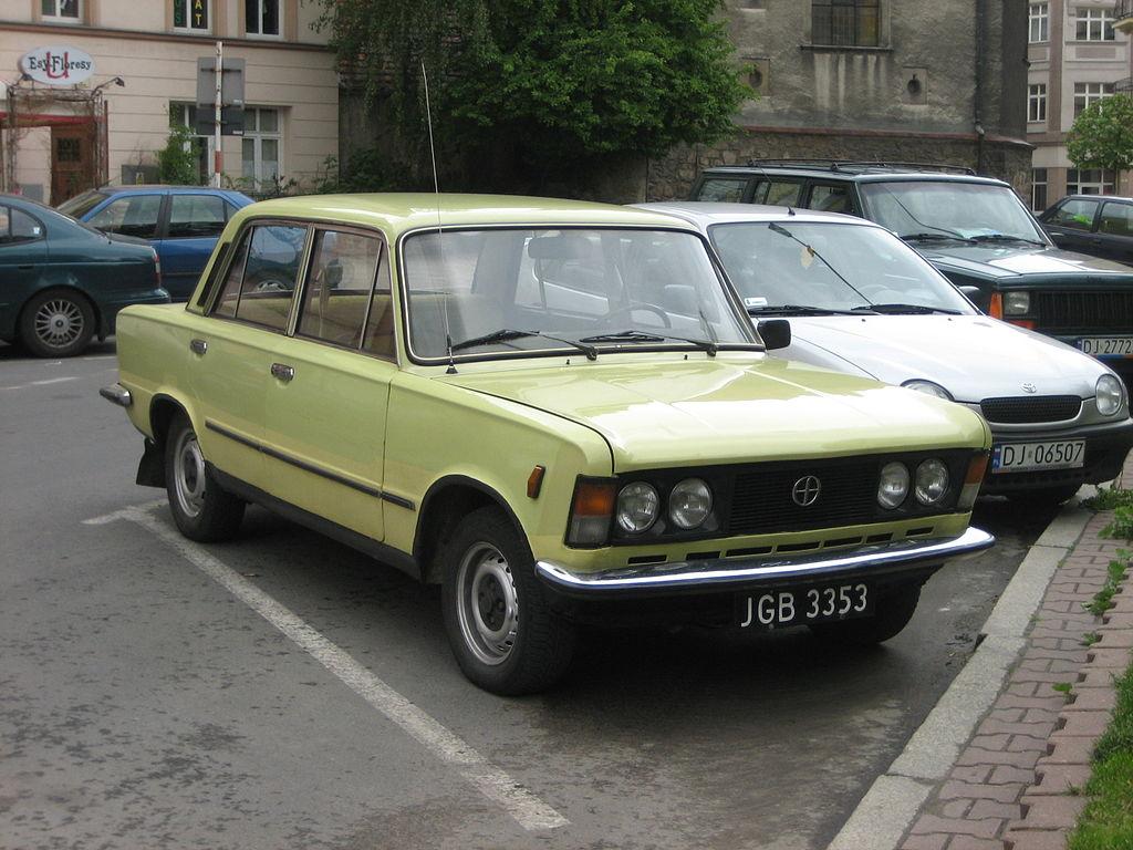 File:Polski Fiat 125p yellow.jpg  Wikimedia Commons