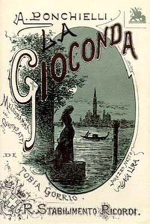 La Gioconda (opera) - Cover of the original 1876 libretto