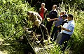 Pond dipping at LWT Gunnersbury Triangle.JPG