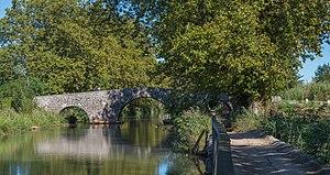 Agde - Saint-Joseph Bridge over the Canal du Midi