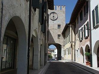 Battle of Sacile - Image: Porcia Torre Orologio 1