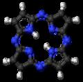 Porphyrazine 3D ball.png
