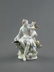 Porslin. Figurgrupp - Venus och Amor - Hallwylska museet - 89221.tif