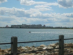 Port Liberté, Jersey City - Port Liberte from Liberty State Park.
