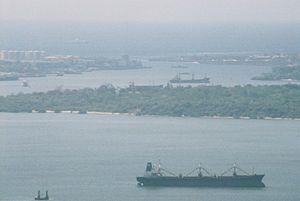 Kilindini Harbour - Image: Port of Mombasa