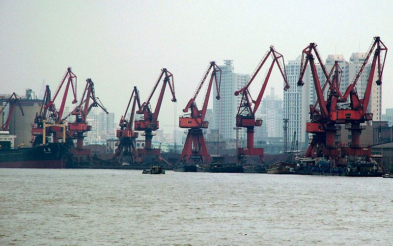 File:Port of Shanghai, 2004.jpg