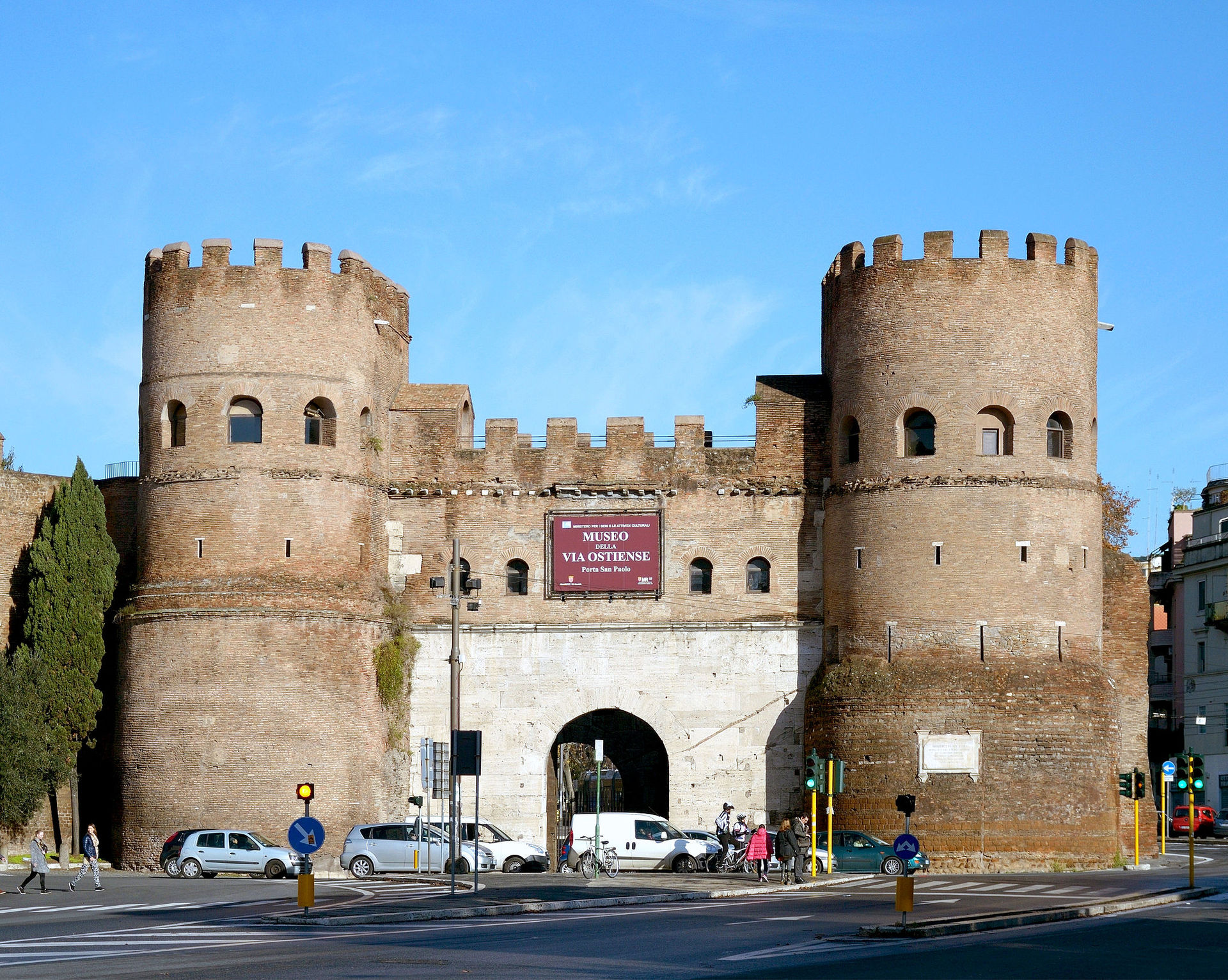 Porta san paolo wikipedia - Porte a roma ...