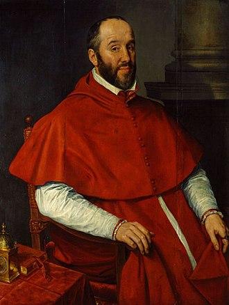 Antoine Perrenot de Granvelle - Portrait by Willem Key