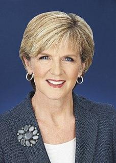 Julie Bishop Australian politician