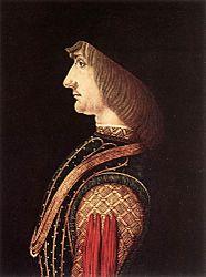 Giovanni Ambrogio de Predis: Portrait of a man