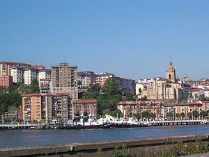 Left Bank (Biscay) - Image: Portugaletevizcaya
