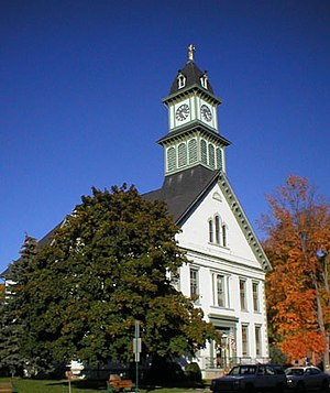 Coudersport, Pennsylvania - The Potter County Courthouse