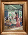 Pouring the morning coffee, by Laurits Tuxen, with frame.jpg