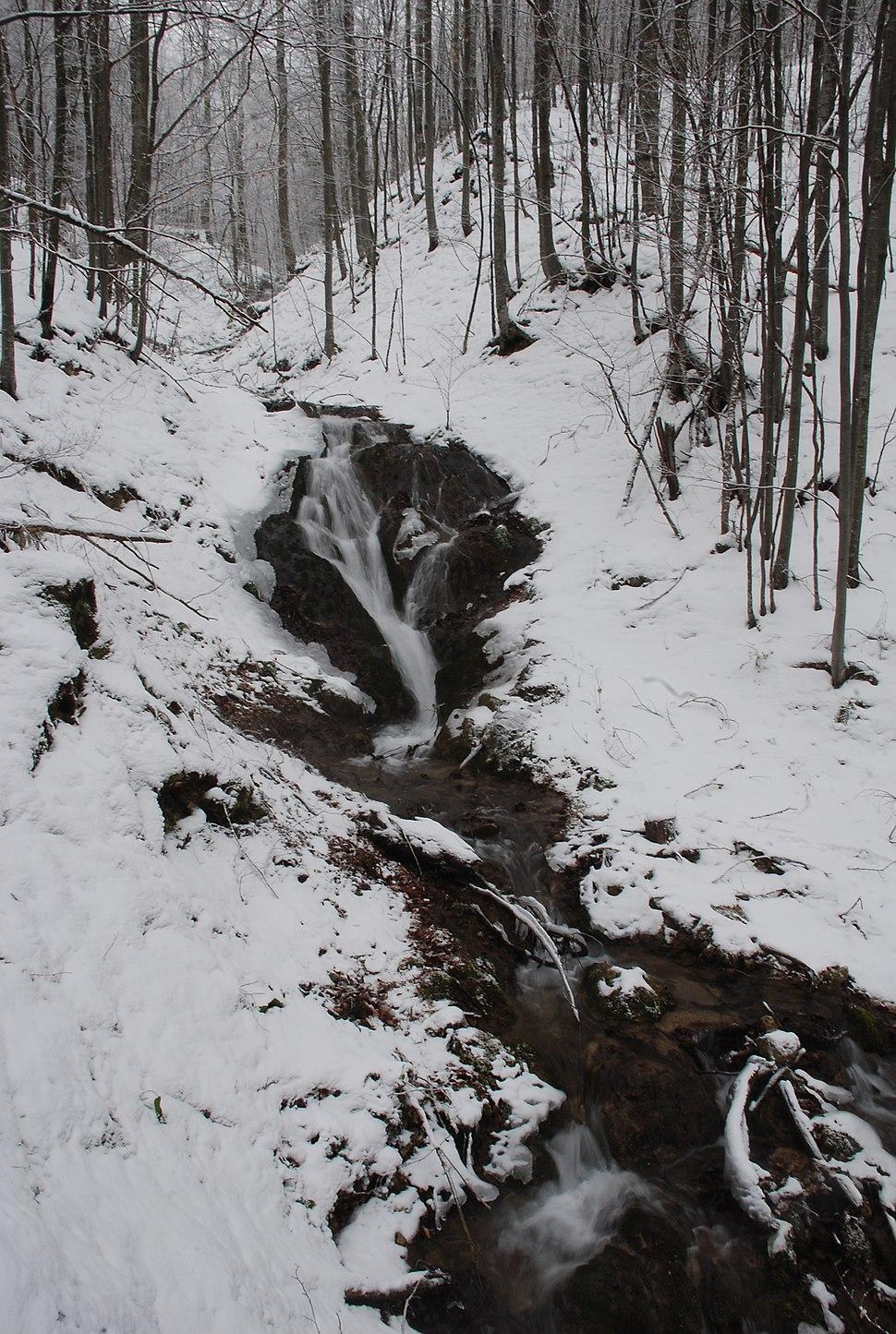 Povlenska reka - Vodopad - 3