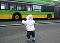 Poznan EURO 2012 child and bus.jpg