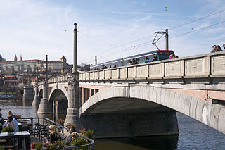 Mánes Bridge bridge in Prague