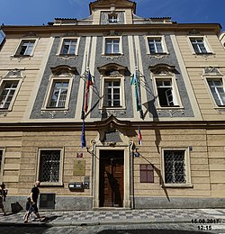 Prague- the former Lusatian Seminary (1728) (24238984268).jpg