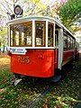 Praha, Holešovice, Výstaviště, historická tramvaj.jpg