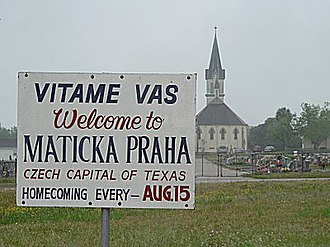 "Czech Americans - Welcome to Praha, Texas, ""Czech Capital of Texas""."
