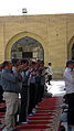 Prayers of Noon - Grand Mosque of Nishapur -September 27 2013 30.JPG