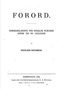 Prefaces by Kierkegaard.JPG