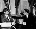 President John F. Kennedy Meets with The Aga Khan IV, Prince Karim al-Husseini (01).jpg